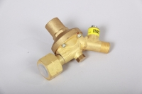 Gasregler Druckminderer 1.5bar/4kg mit Schlauchbruchsicherung