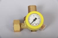 Gasregler Druckminderer 1.5bar/1,5kg mit Manometer