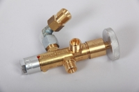 HGS-Ventil 90° 3/8 Gasanschluß (Ventil mit Hauptgassperre)