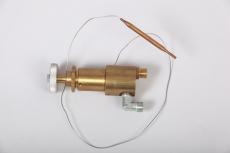 HGS-Ventil 90° Gasanschluß (Ventil mit Hauptgassperre)