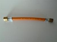 Gasschlauch Propan dünn 4,0m G3/8LH-G3/8LH für 30Bar 4x4