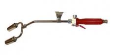 Bauhandbrenner mit 2x Haube 60 Leistung 160-210 Kw
