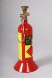 Kleinstflasche Propan 425g / 1l mit Fuß 175Bar (Handwerkerflasche)