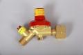 Gasregler Druckminderer 1.5bar/1,5kg mit Schlauchbruchsicherung