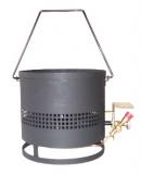 Bitumenkocher 8kW mit Zündrohr
